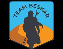Team Beskar Logo & Landing Page