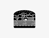 Family Farm Burger logo