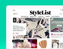 Stylelist.com Redesign