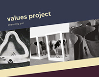 Values Project – Infographic, Website, Print Design