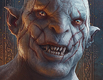 Hobbit Fanart - Azog the Defiler