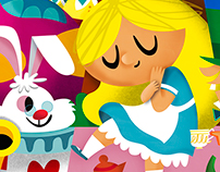 """Alice in Wonderland"" By Kiki Viale"