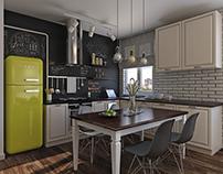 Funny kitchen