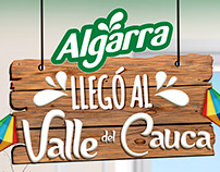Algarra llegó al Valle del Cauca