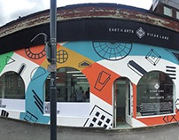 130 Vicar Lane mural design