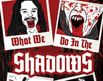 What We Do In The Shadows Movie Poster and DVD Cover
