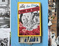 Latino Film Festival poster (submission).
