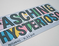 Fasching Hysterioso - Flyer