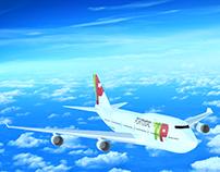 Boing 747-400 3D