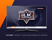 İLK RAUNT | BOXING TV SHOW LOGO & BROADCAST GRAPHICS