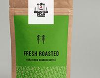 ROASTED BEAN COFFEE: Logo & Identity