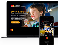 MasterCard Sorpresas! NO TIENE PRECIO Landing Page