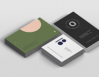 Business Card Mockup Bundle Stack