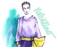 V A L E N T I N O / spring 18 couture