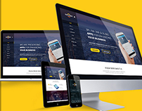 Zero Degree One Page Apps Landing Page