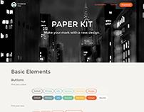 Paper Kit - FREE Bootstrap UI Kit