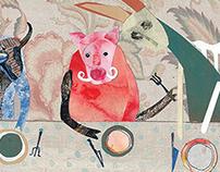 ВКУСНО Иллюстрации к серии книг про еду