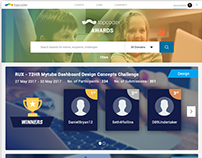 topcoder AWARDS Page Design