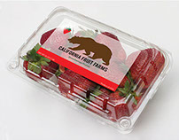 Strawberry Label Design