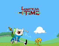 Pixel Art Layout: Adventure Time