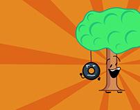 Tree & Tire Swing