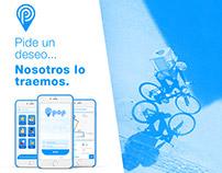 Pop app | Brand, UX/UI, IxD, Web design.