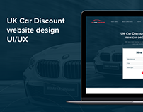 UK Car Discount Ltd. website design