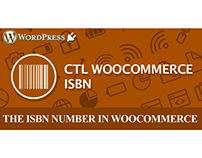WordPress Plugin: CTL WooCommerce ISBN