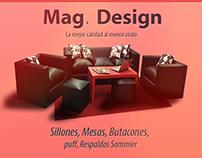 Diseño de shop sillones