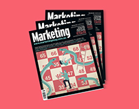 MARKETING MAGAZINE COVER DESIGN - DEC/JAN ISSUE