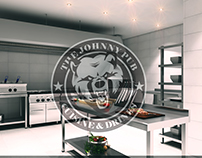 THE JOHNNY PUB in Nizami raion.Ground floor.Kitchen