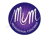 Logo Design for M&M Professional Concierge