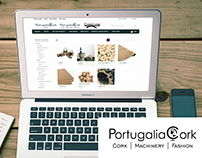 PortugaliaCork S.A. - Webpages and Webstore