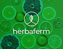 Herbaferm identity, packaging and social media