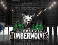 NBA on ESPN  - 3D Logo Design/Animation [part 2]
