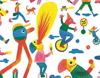 The International Street Artists' Festival | Poster