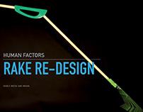 Rake re-design