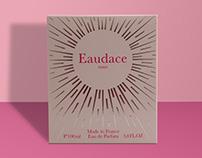 Création du parfum Eaudace paris
