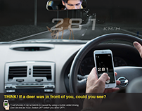 THINK! Road Safety Awareness Campaign