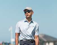 Golfing with Obama