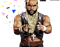 Mr T. The A Team
