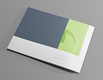 Free Landscape Brochure Mockup - PSD