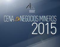 Gráfica Cena de Negocios Mineros 2015
