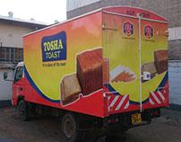 Tosha Toast Truck Branding