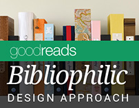 goodreads bibliophilic design approach