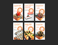 Digital Menu Banners