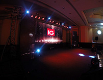 Corporate Event held at The Leela Palace, Bangalore.