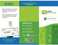 Dade Recycling Trifold Brochure