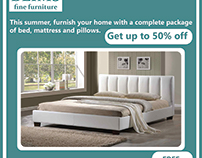 Furniture package flyer