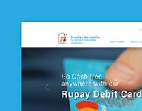 Bombay Mercantile Bank Landing Page
